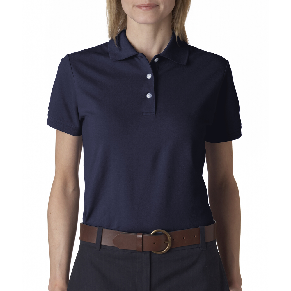 Izod Promotional Ladies Silk Wash Custom Printed Polo Shirts 13z0063
