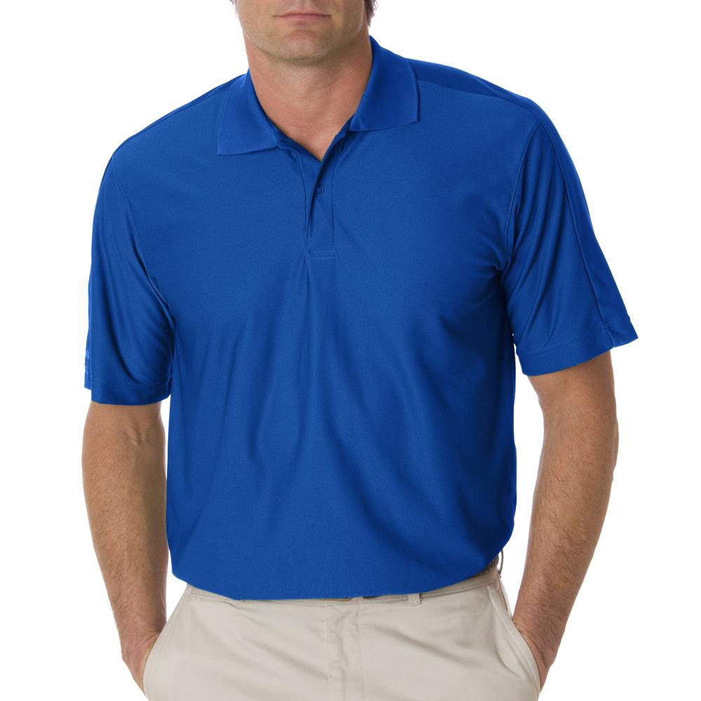 Izod personalized mens performance golf custom polo shirts for Cobalt blue polo shirt