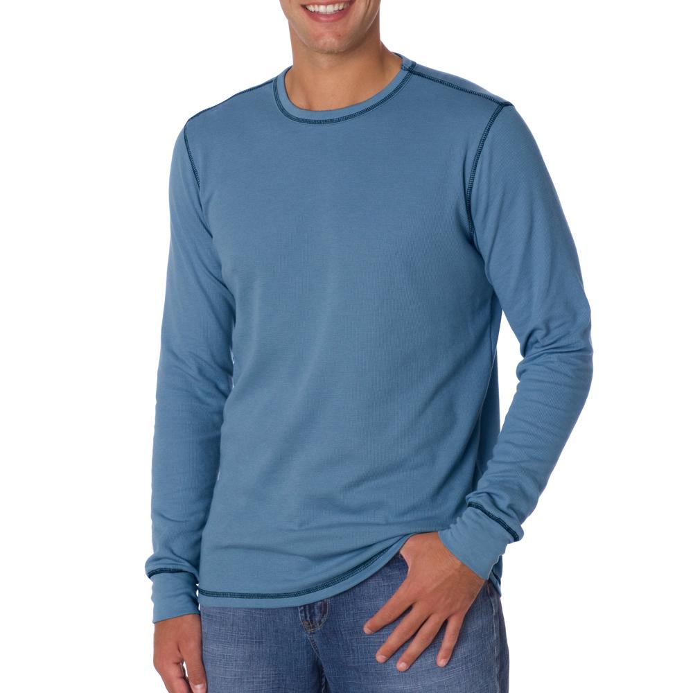 Printed Bella Canvas Mens Thermal Long-Sleeve T-shirts  cfcb634dd79