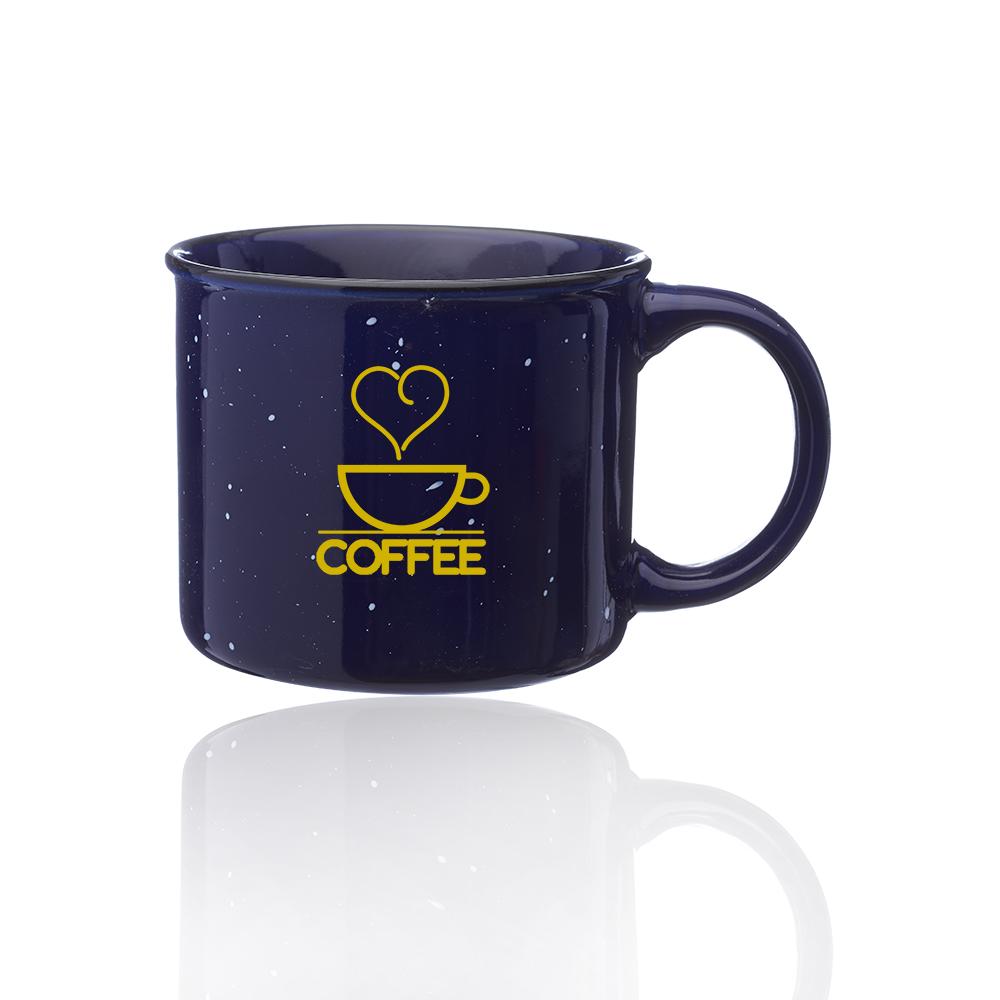 13 oz  Ceramic Campfire Coffee Mugs | 1300