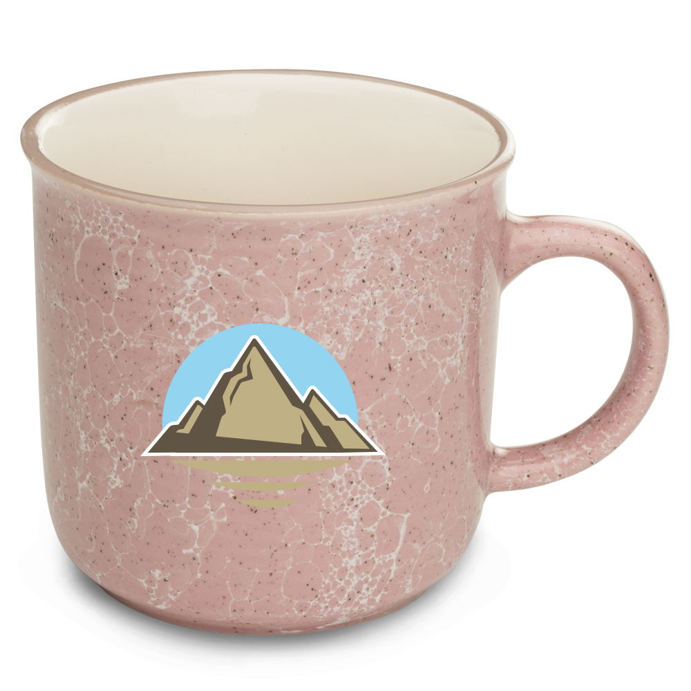Custom 13 oz. Marble Campfire Coffee Mugs | 5009- DIscountMugs