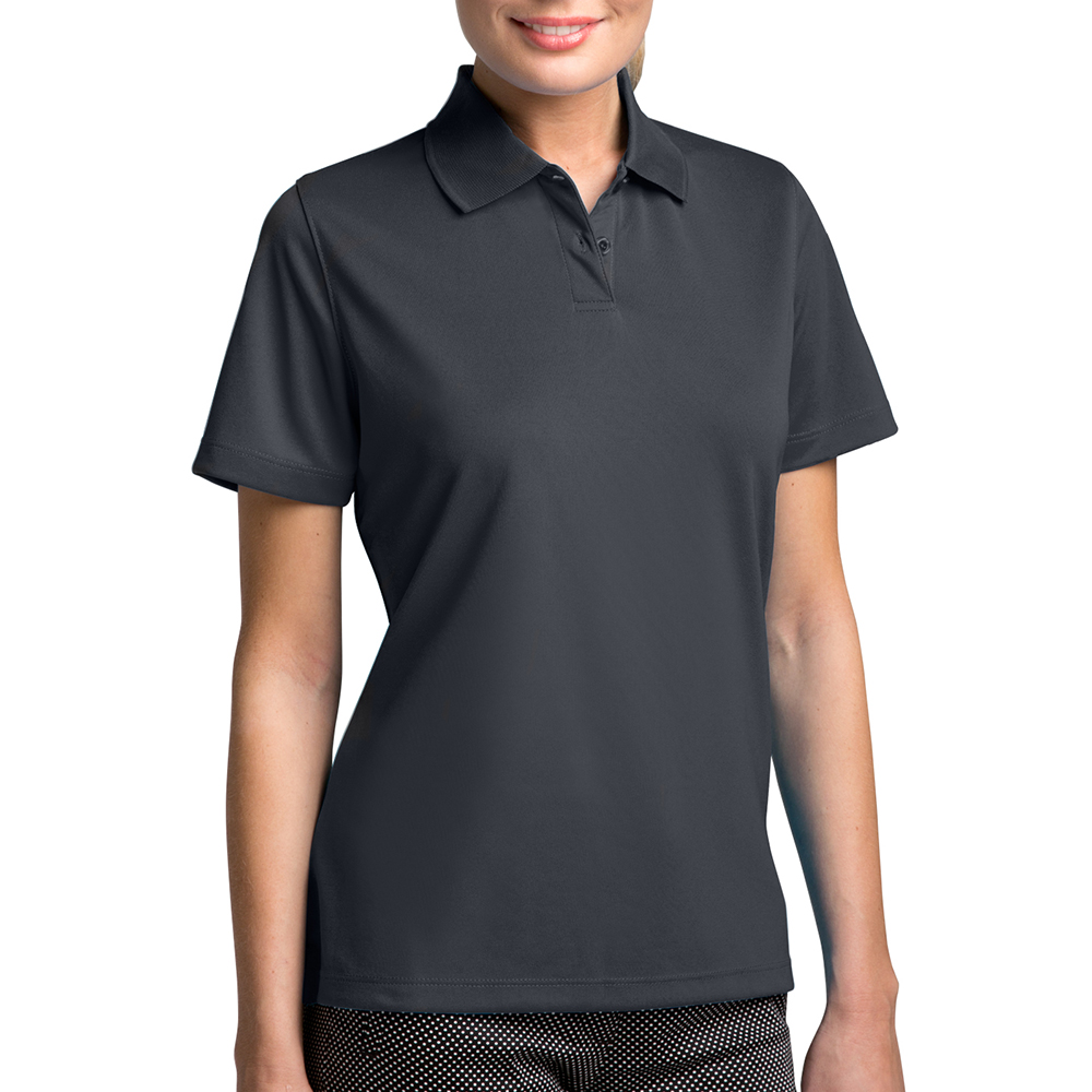 Embroidered Vansport Womens Omega Tech Polo Shirts  dbfe86d85f