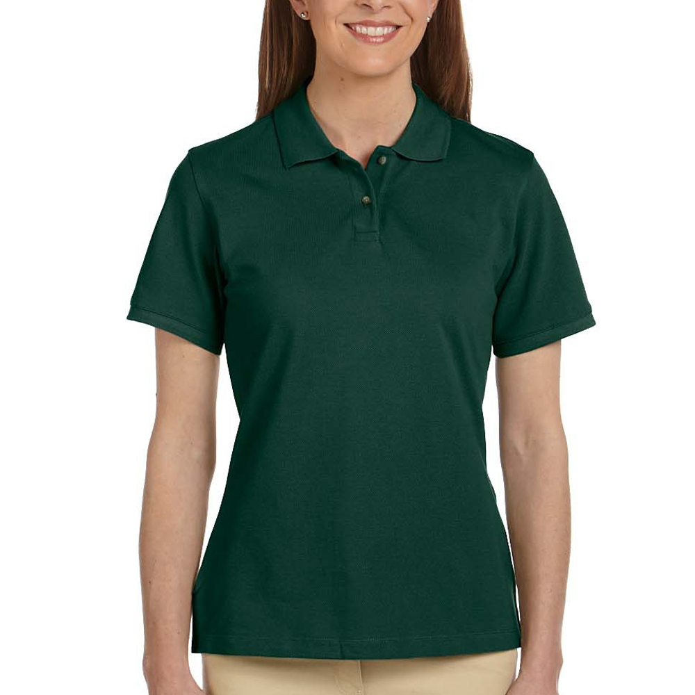 Embroidered Harriton Ladies Short Sleeve Polo Shirts M200w