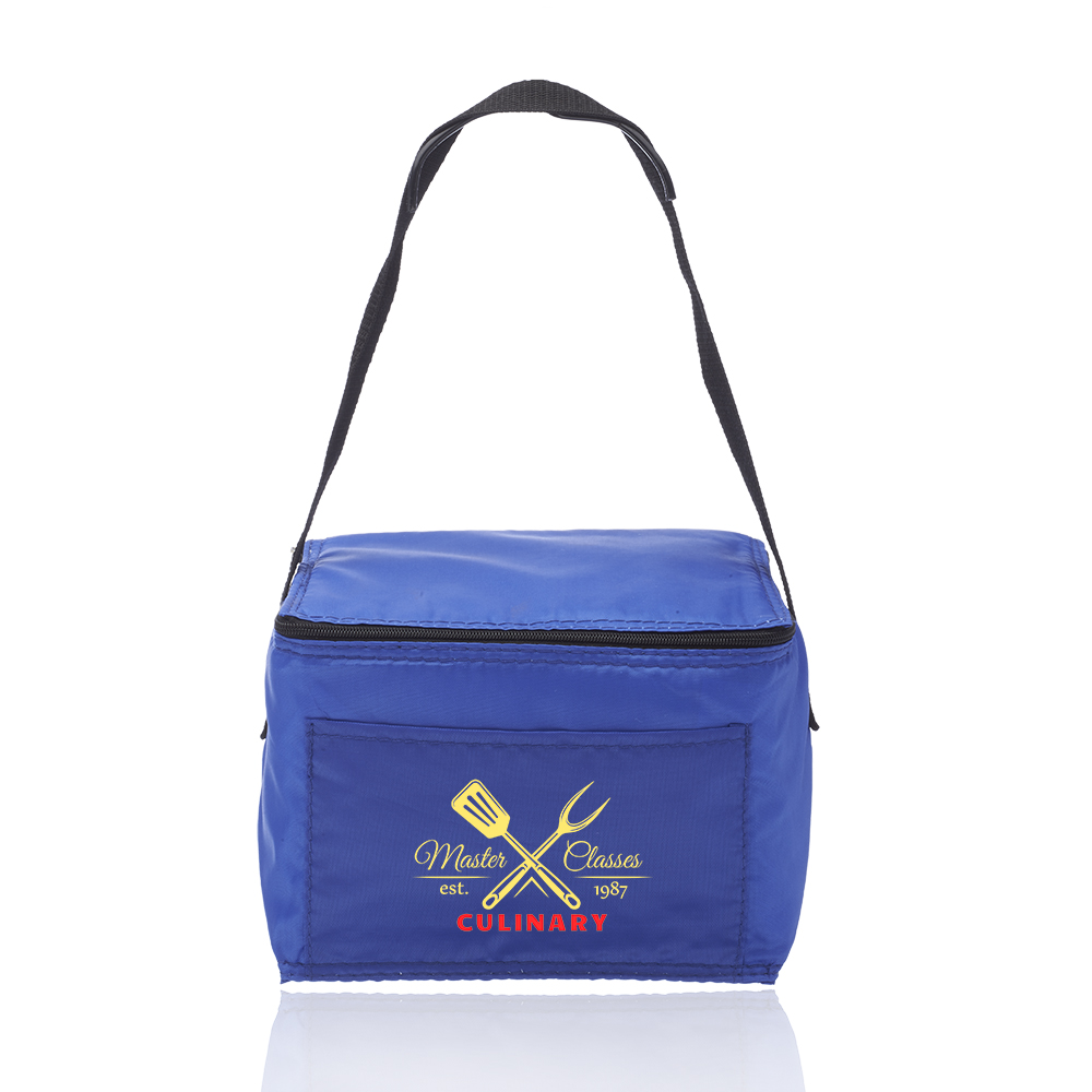 f69bb64643f6 6 Pack Cooler Lunch Bags | LUN01