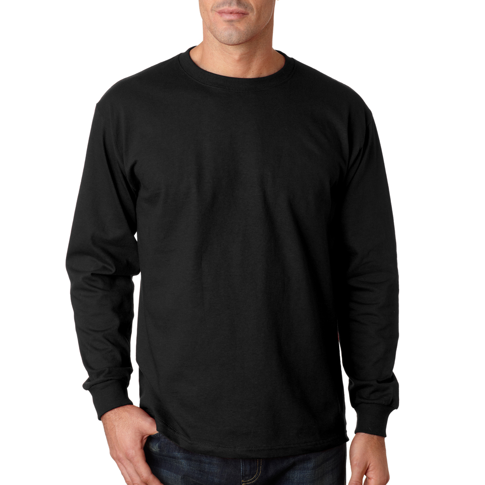 Personalized Jerzees Mens Budget Long-Sleeve Shirts 363L