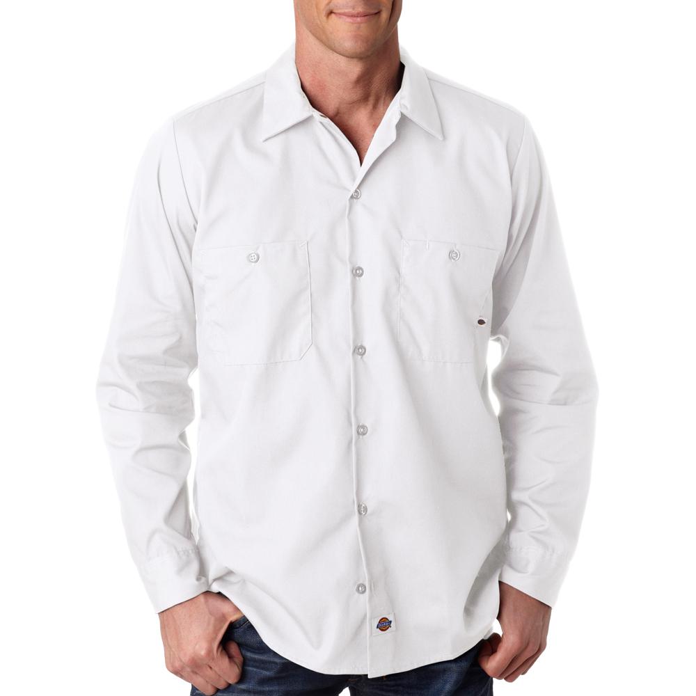 Cheap bulk dickies men 39 s long sleeve work shirts ll535 for Cheap workout shirts mens