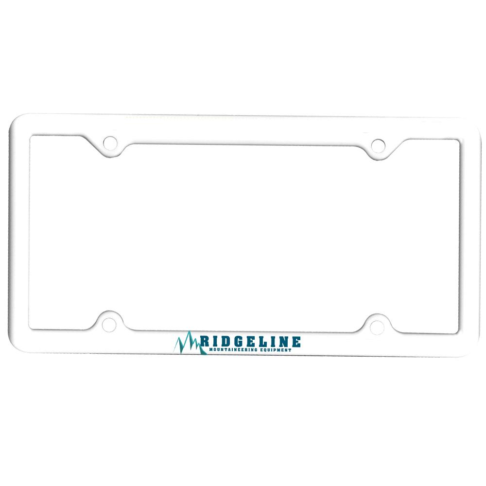 Custom Line Plastic License Plate Frames | AK8041004 - DiscountMugs