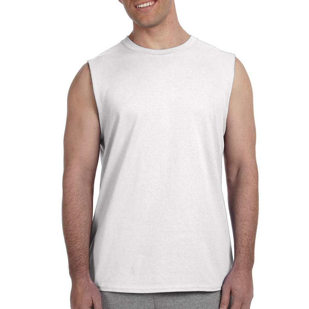 a2f76ff872ca Printed Gildan Ultra Cotton Sleeveless T-Shirts   G2700 - DiscountMugs