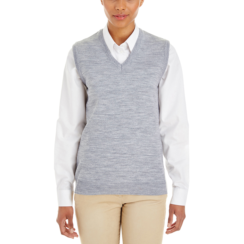Custom Harriton Ladies Pilbloc V-Neck Sweater Vests | M415W ...