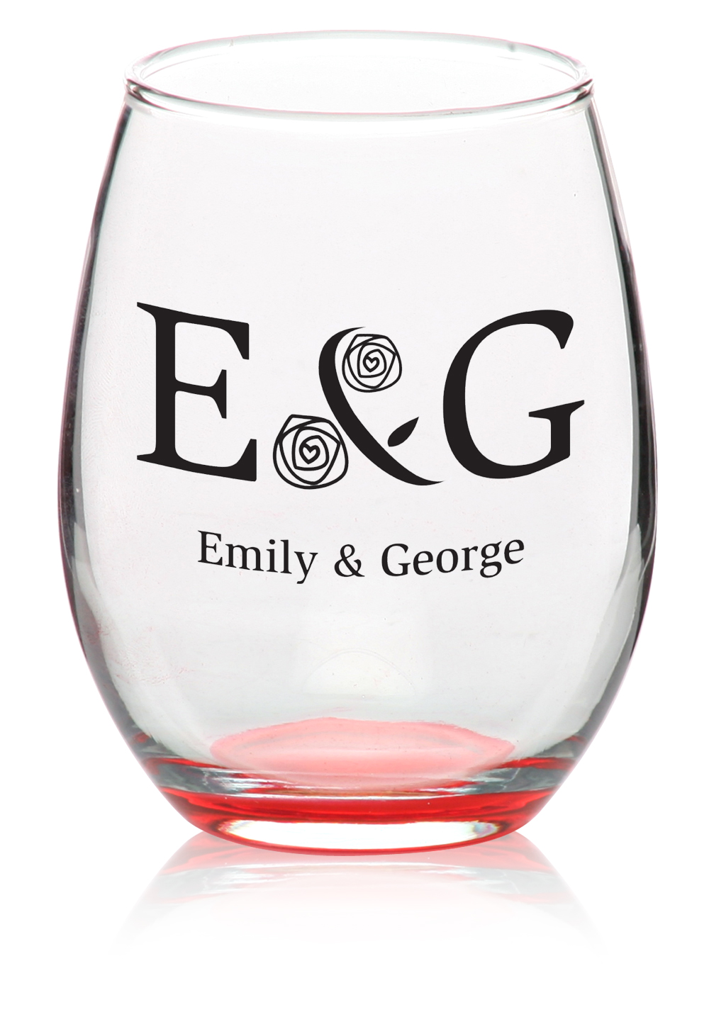 Custom Stemless Wine Glasses Personalized Wine Glasses