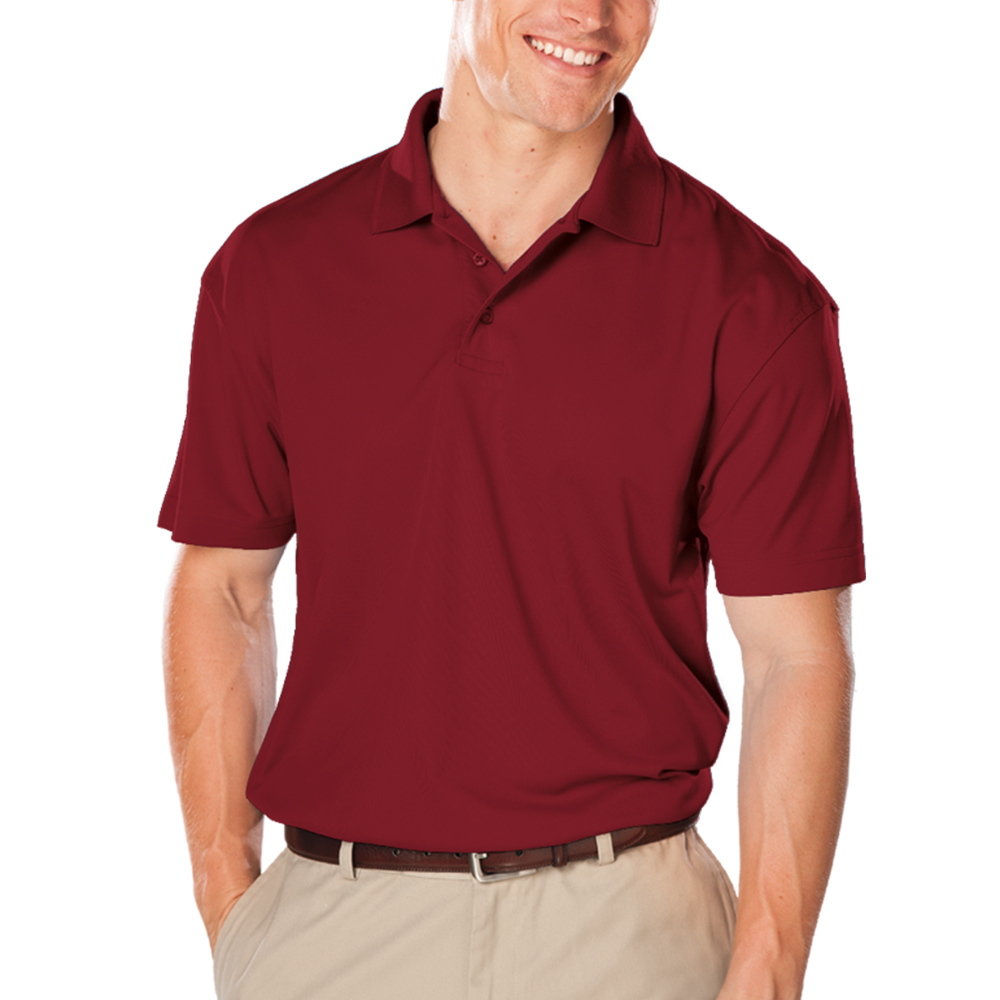 Embroidered Mens Value Moisture Wicking Polo Shirts Bgen7300