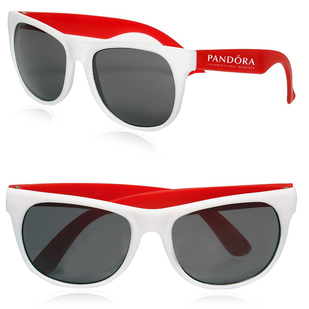Personalized Two Tone Plastic Sunglasses | SGL01 - DiscountMugs