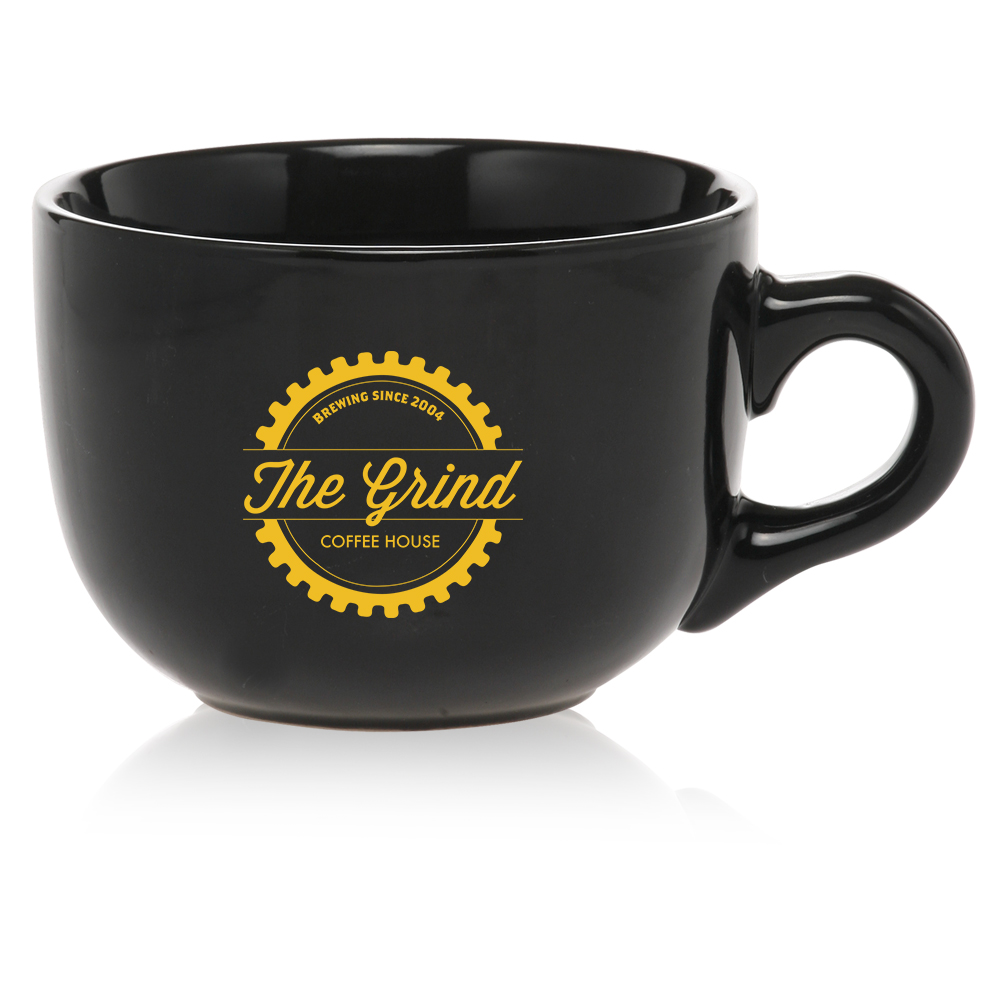 Custom 23 oz. Large Cappuccino Soup Mugs   2400 - DiscountMugs