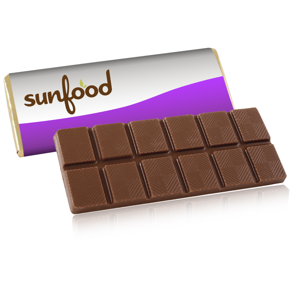 Personalized 1.75 oz. Belgian Chocolate Bar with Wrapper | X10302 ...