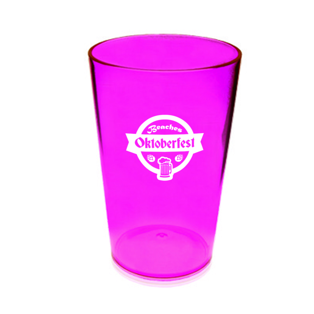 Personalized 16 oz. Acrylic Pint Glasses | HWP16 - DiscountMugs
