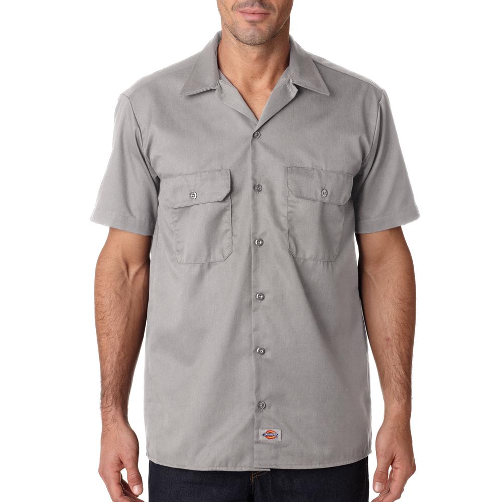 1fbfc593 Custom Dickies Men's Short-Sleeve Work Shirts | 1574 - DiscountMugs