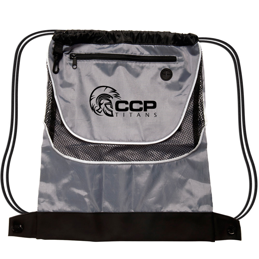Custom Nylon Drawstring Backpack- Fenix Toulouse Handball 41c0da6440bad