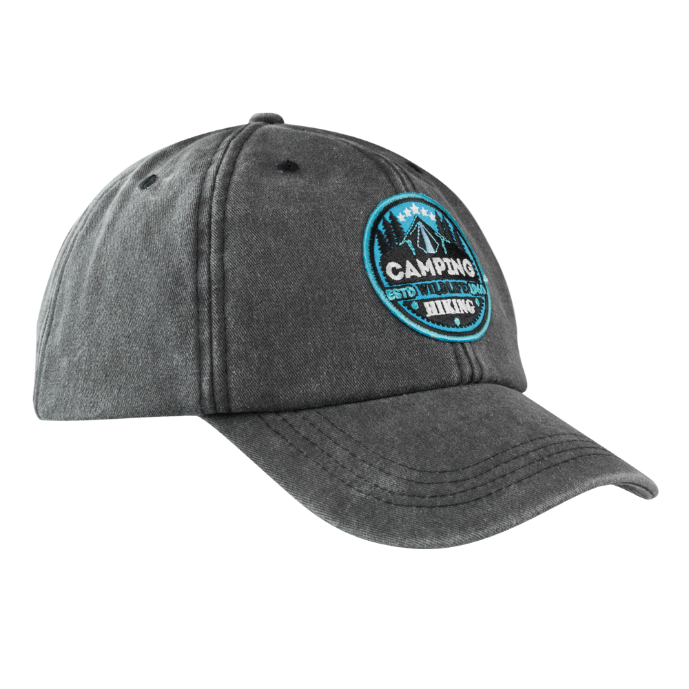 92894128d99 Embroidered Lynx Washed Cotton Baseball Caps