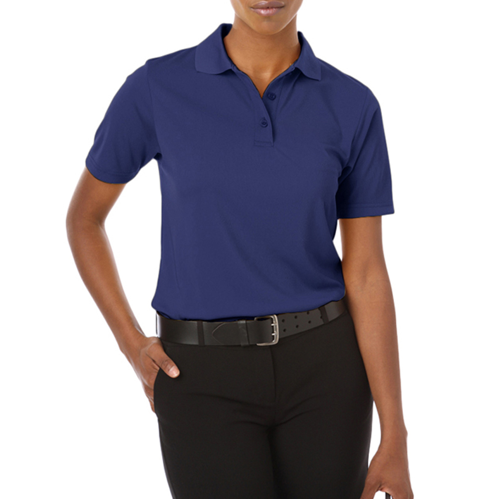 e8f51628f19f Ladies Polo Shirts Navy Blue - DREAMWORKS