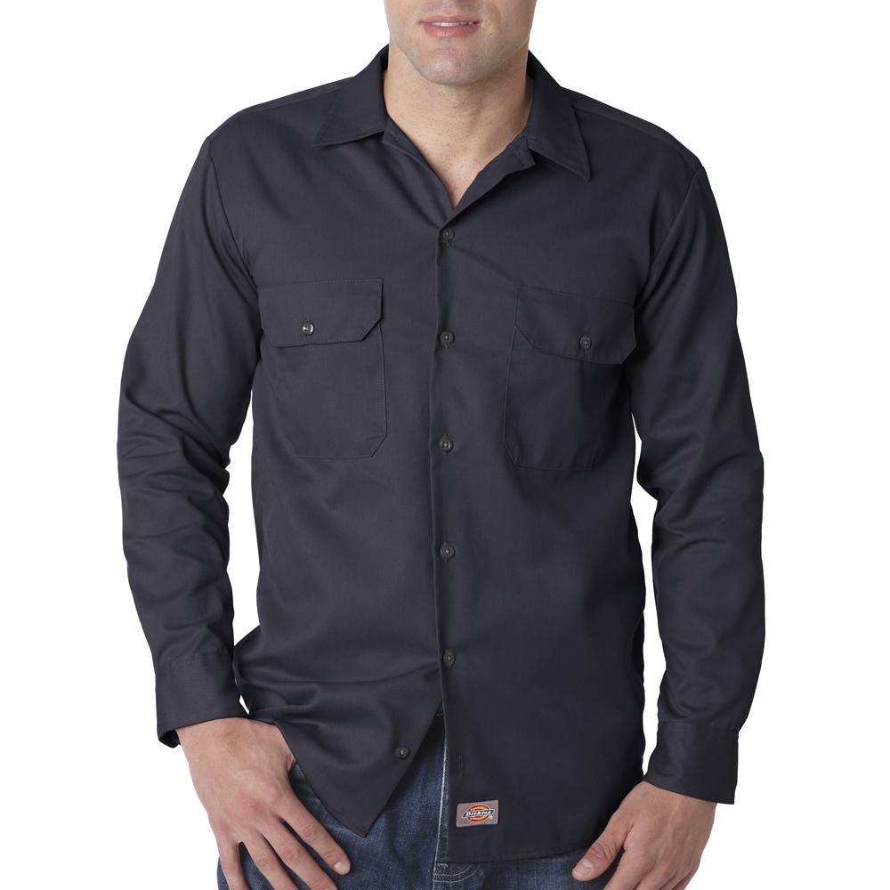 Wholesale customizable dickies long sleeve work shirts 574 for Custom work shirts cheap