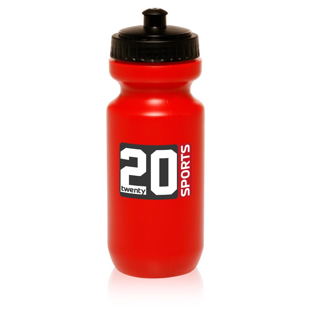 Logo 7259 22 oz domed bike sipper custom plastic sports for Unique plastic bottles