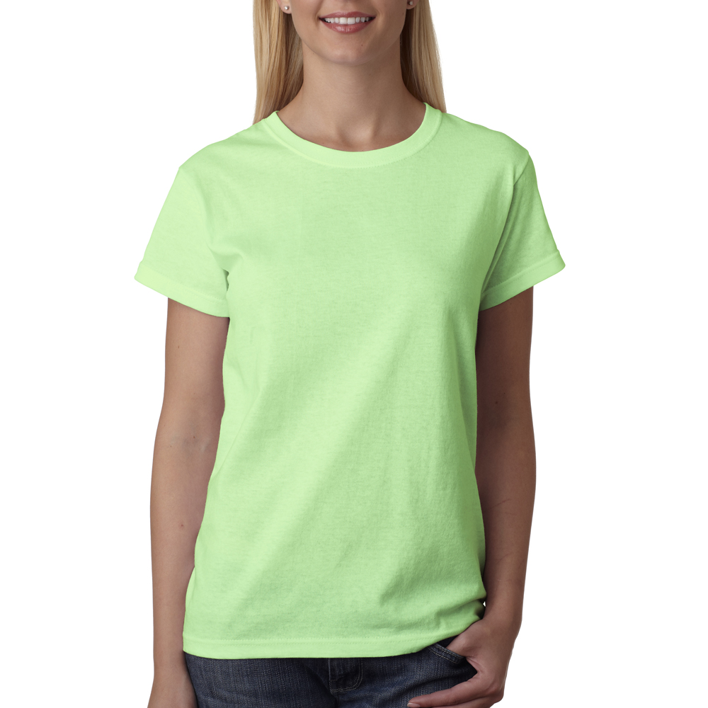 Wholesale custom logo screen printed bulk personalized for Bulk neon t shirts