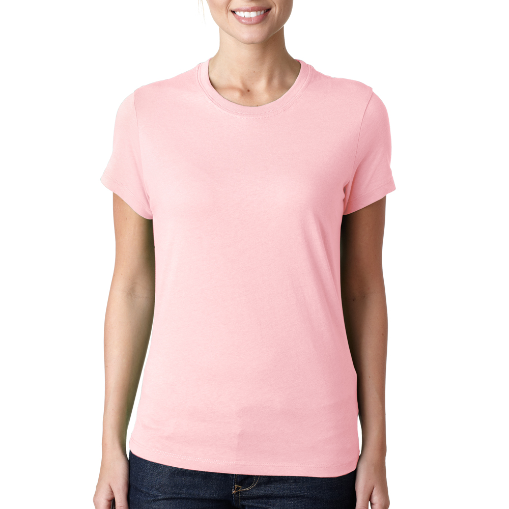 Bella ladies wholesale custom printed bulk personalized for Pink ladies tee shirts