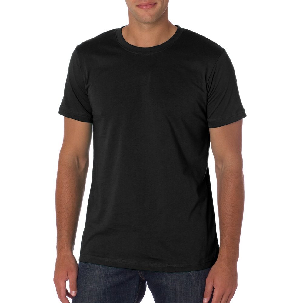 Stay Comfortable in Men's T-Shirts. Wear men's T-shirts for casual night outs, to work, and when running daily errands. T-shirts are comfortable, casual apparel that complements dress pants, sweatpants, jeans, and more.