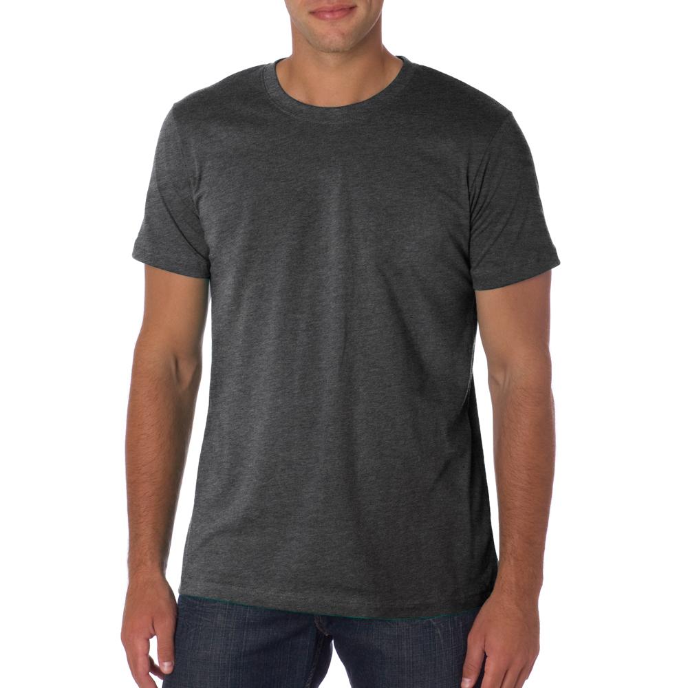 The Gallery For Blank Dark Grey T Shirt