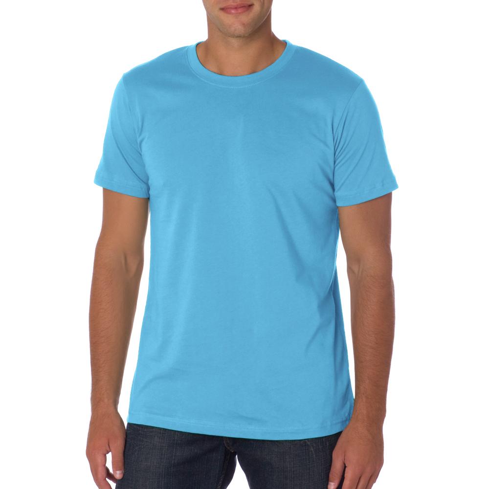 canvas unisex wholesale custom printed bulk personalized ForOcean Blue T Shirt