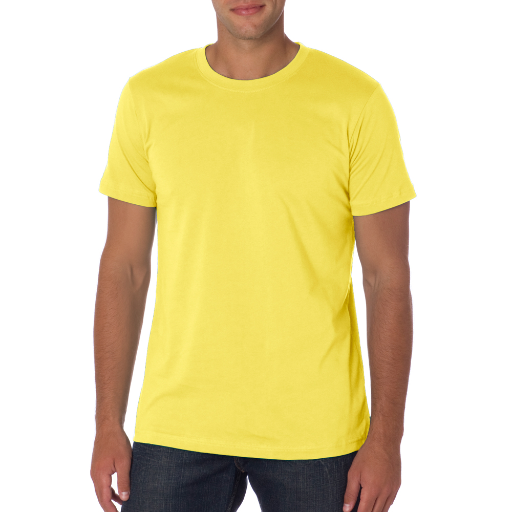 Yellow T Shirt Template