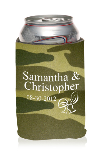 Personalized Wedding Koozies Cheap Wedding Favors Koozies