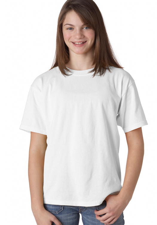 23d5c1409433 Custom Printed Comfort Colors Cotton Youth Tees