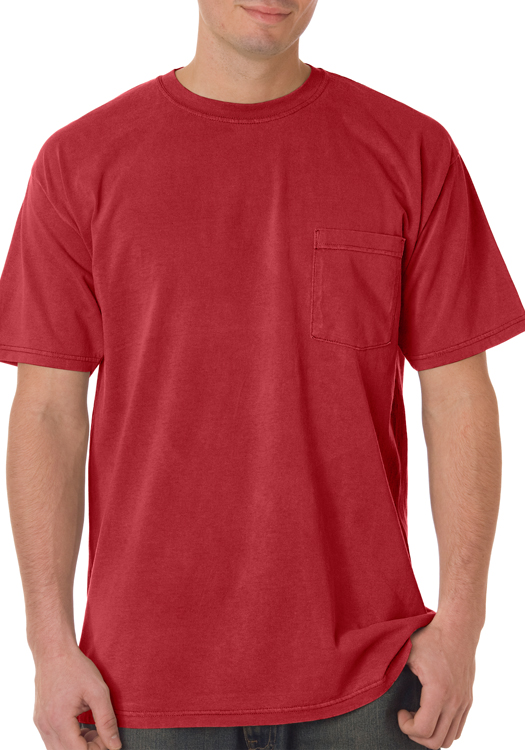 Crimson for Cheap bulk custom t shirts