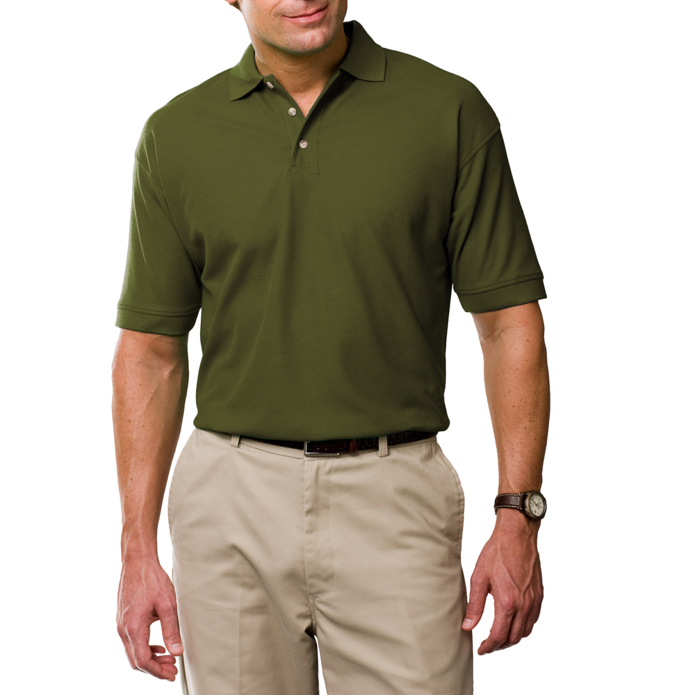 Promotional egyptian ringspun cotton polo shirts blue for 100 egyptian cotton shirts