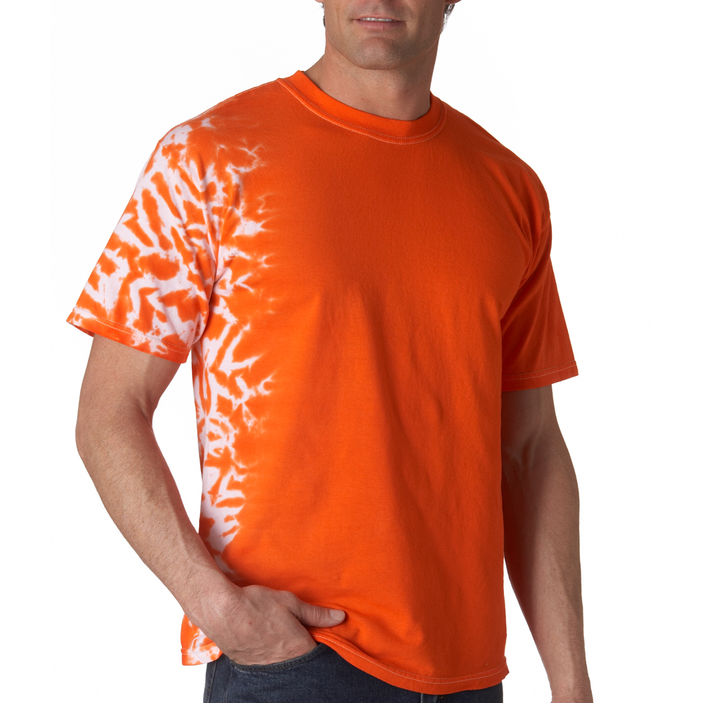 Shirt design gildan - Orange Pink