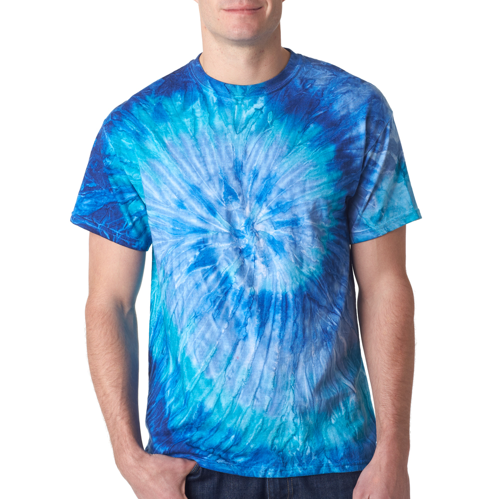 Gildan Bulk Wholesale Custom Printed Cotton Tie Dye T