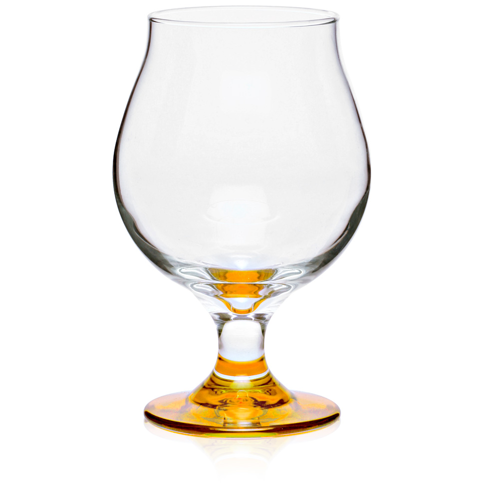 Custom 3808 libbey 16 oz belgian engraved beer glasses