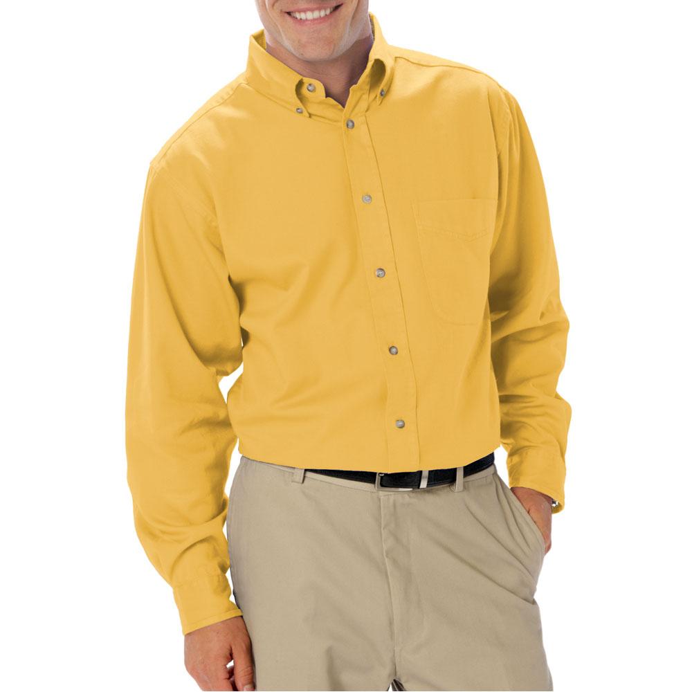 Printed Mens Long Sleeve Signature Twill Dress Shirts Bgen8213