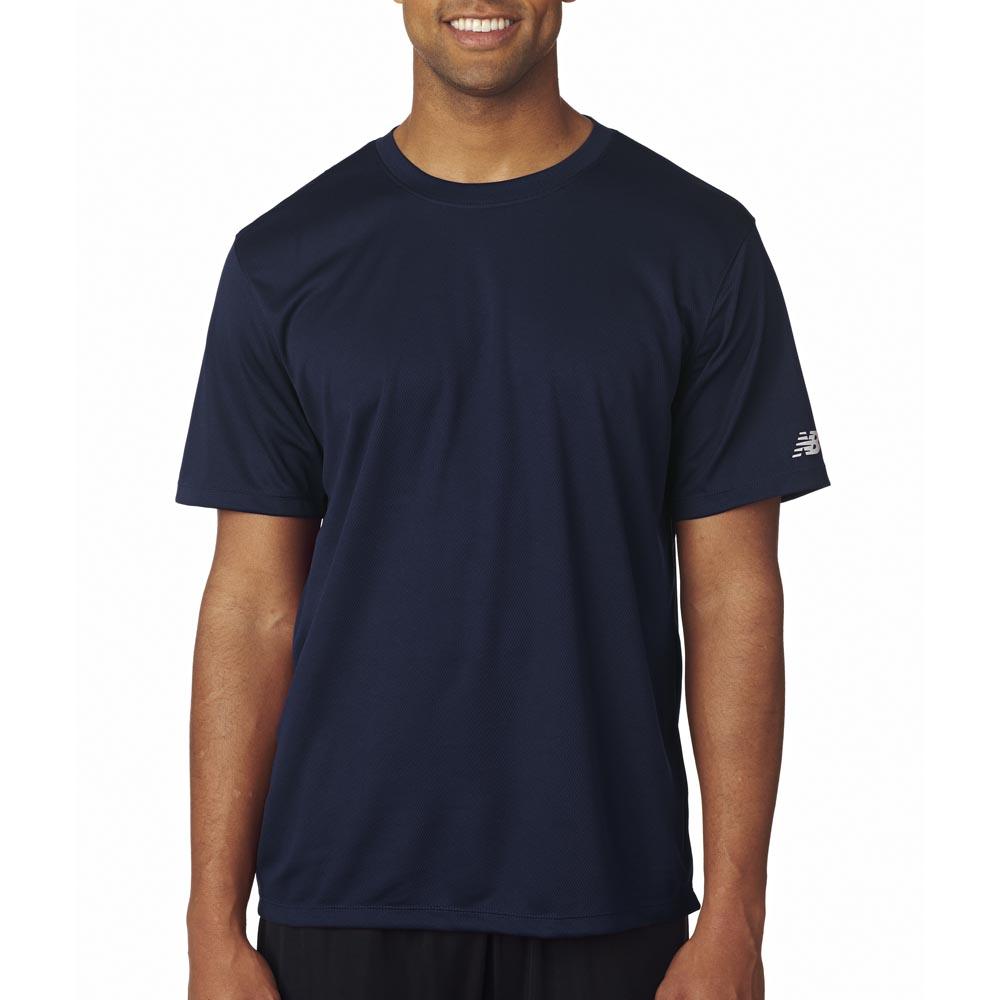 Black t shirt template psd - Printed New Balance Ndurance Athletic T Shirts Nb7118 Discountmugs