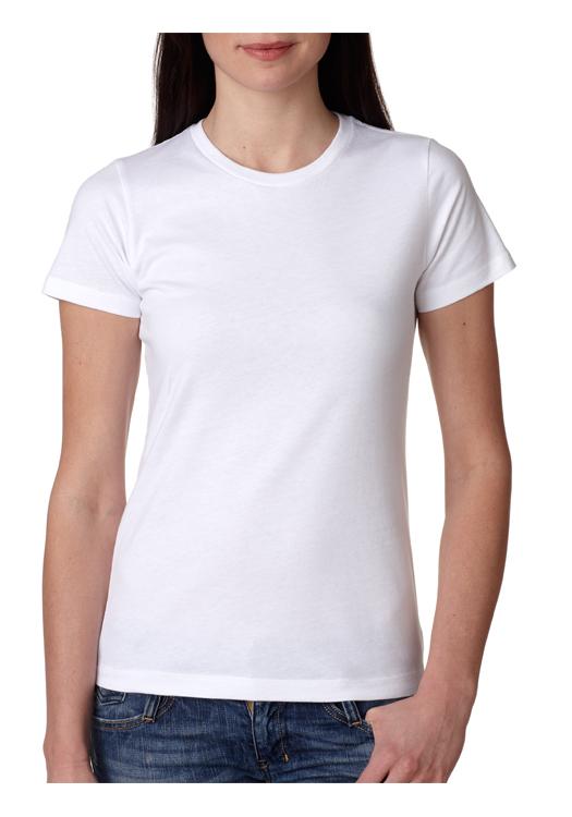 Printed Next Level Ladies Boyfriend T-shirts | NL3900 - DiscountMugs