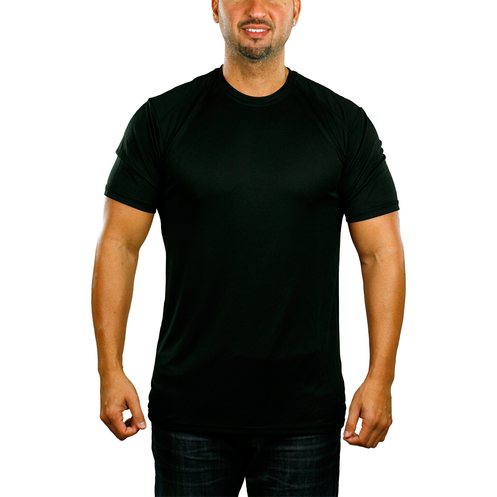 Black t shirt man - Black Cardinal