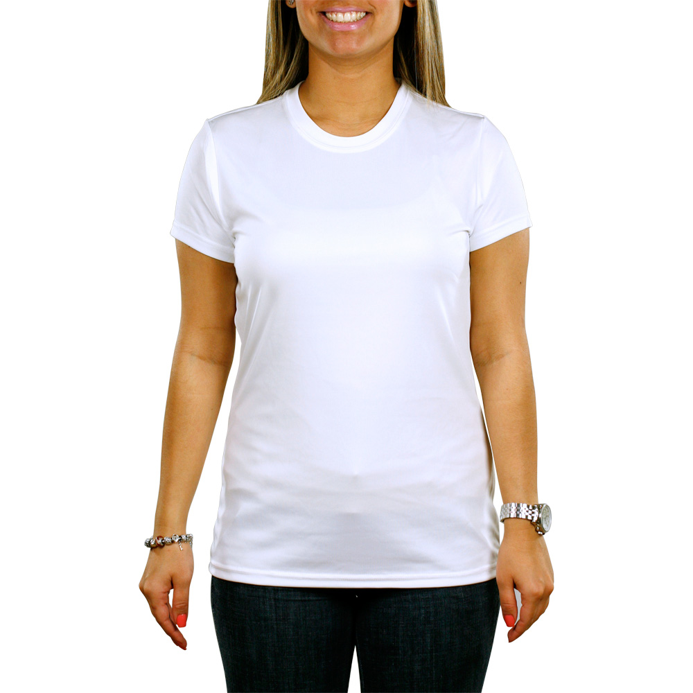 Printed Paragon Women's Crewneck T-Shirts | SM0204 - DiscountMugs