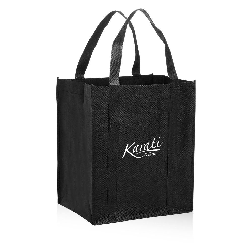 Custom Reusable Grocery Tote Bags | TOT11 - DiscountMugs