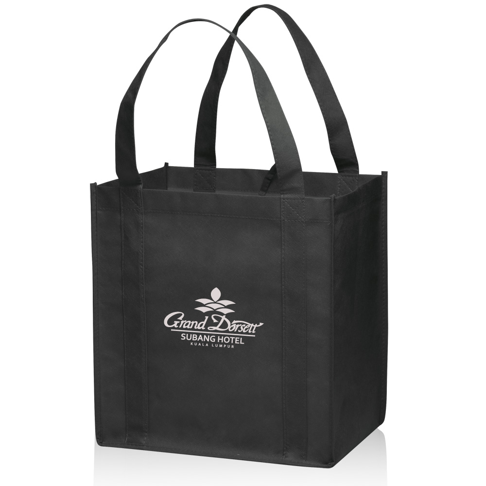 747223be42c0 Small Non-Woven Grocery Tote Bags | TOT33